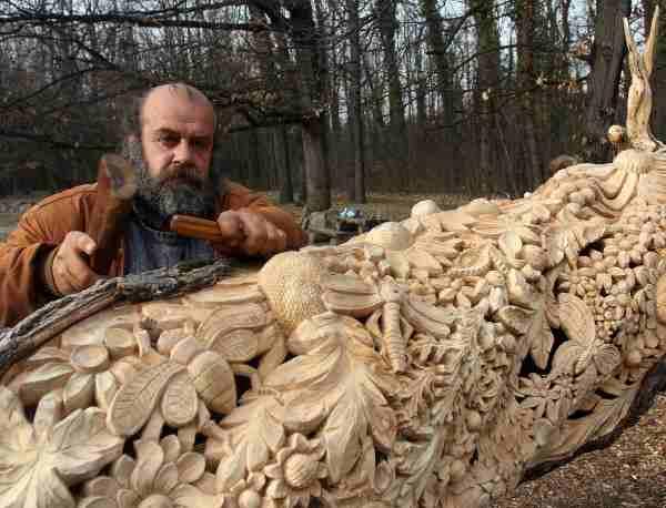 дърворезба