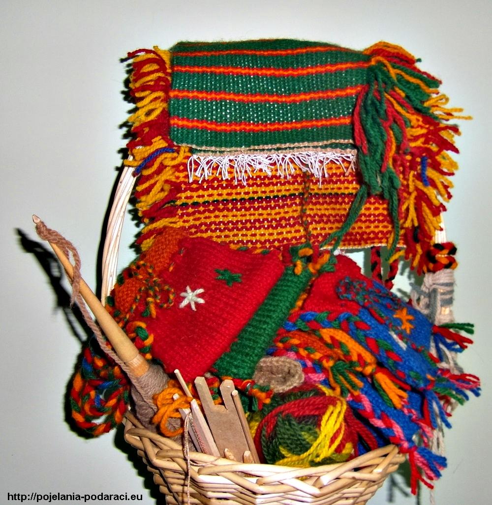 ръчно тъкани и плетени сувенири